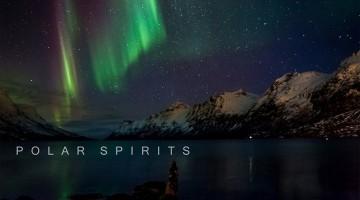 Auroras boreais, o espírito polar
