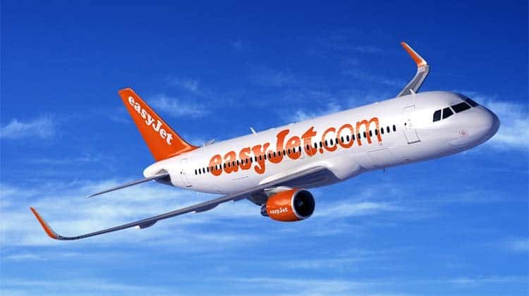 Avião da low cost easyjet