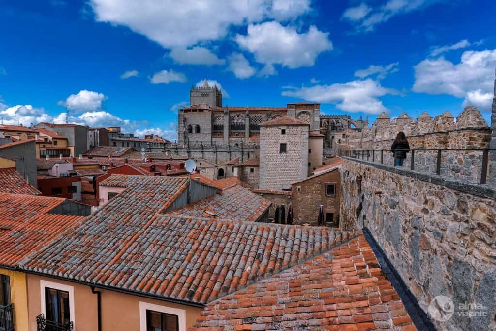 O que fazer em Ávila: visitar as muralhas