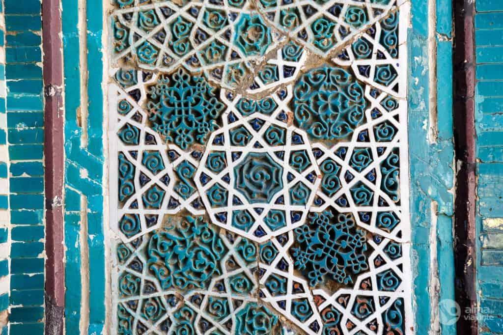 Mosaicos Shakhi-Zinda