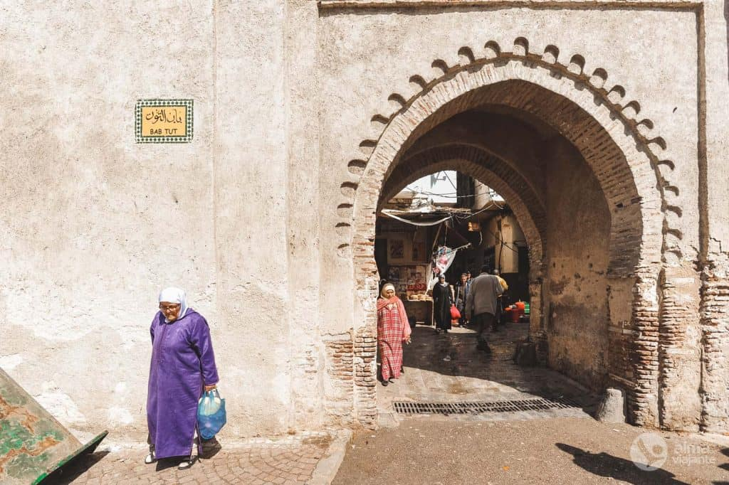 O que fazer em Tetouan: visitar Bab Tut