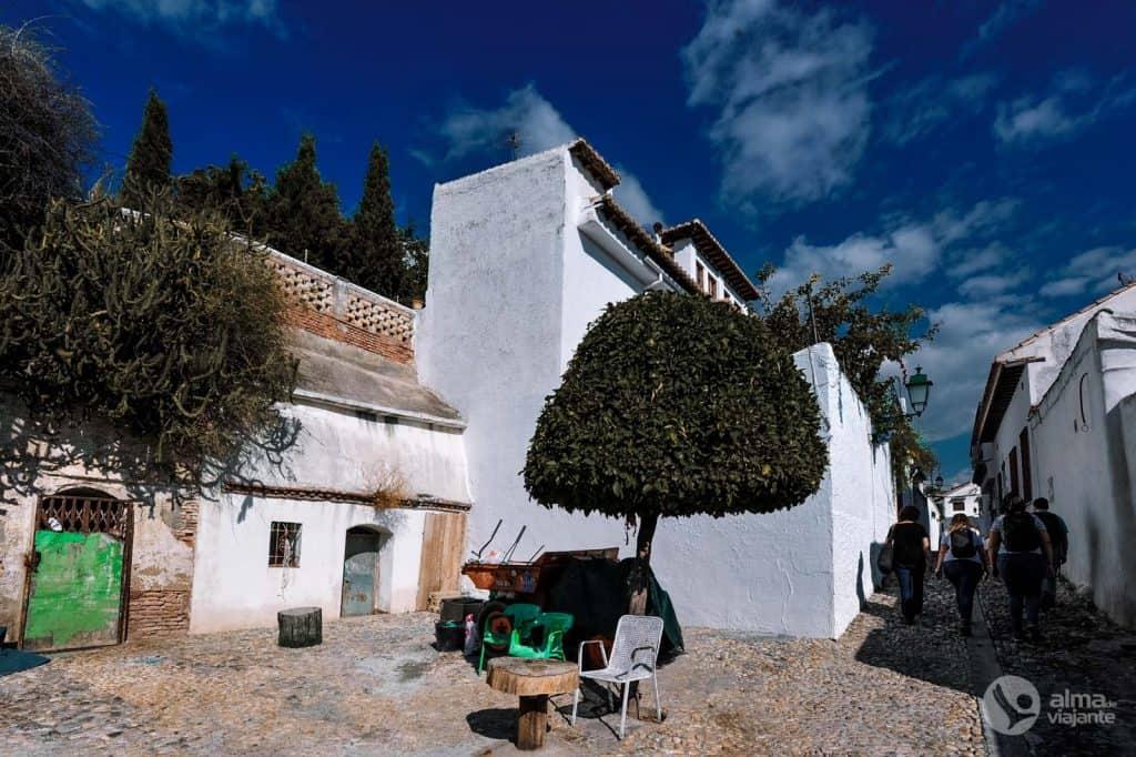 Neighborhood Albaycin, Granada
