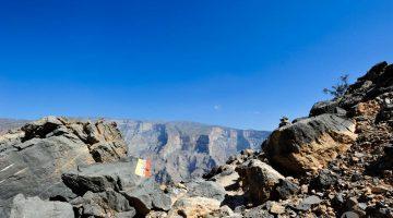 Balkony Walk (W6), um trekking pelas paisagens dramáticas de Jebel Shams