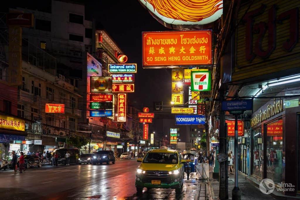Onde ficar em Bangkok: chinatown
