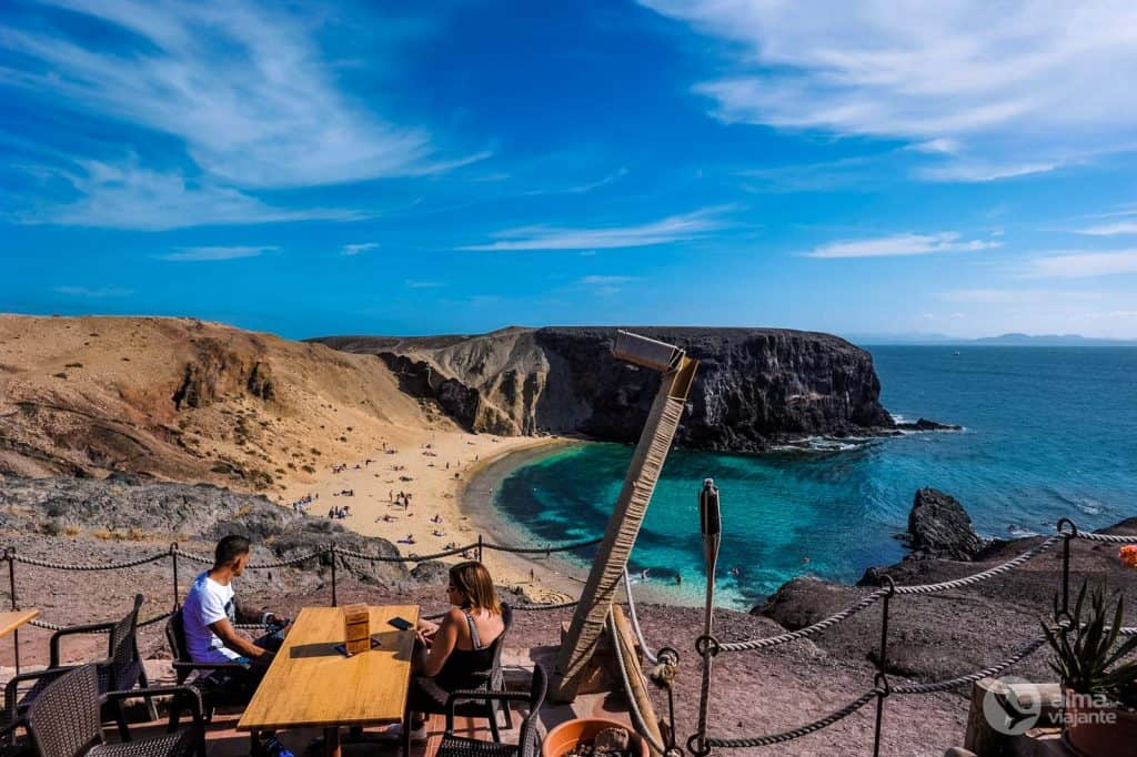 Praia do Papagaio, Lanzarote