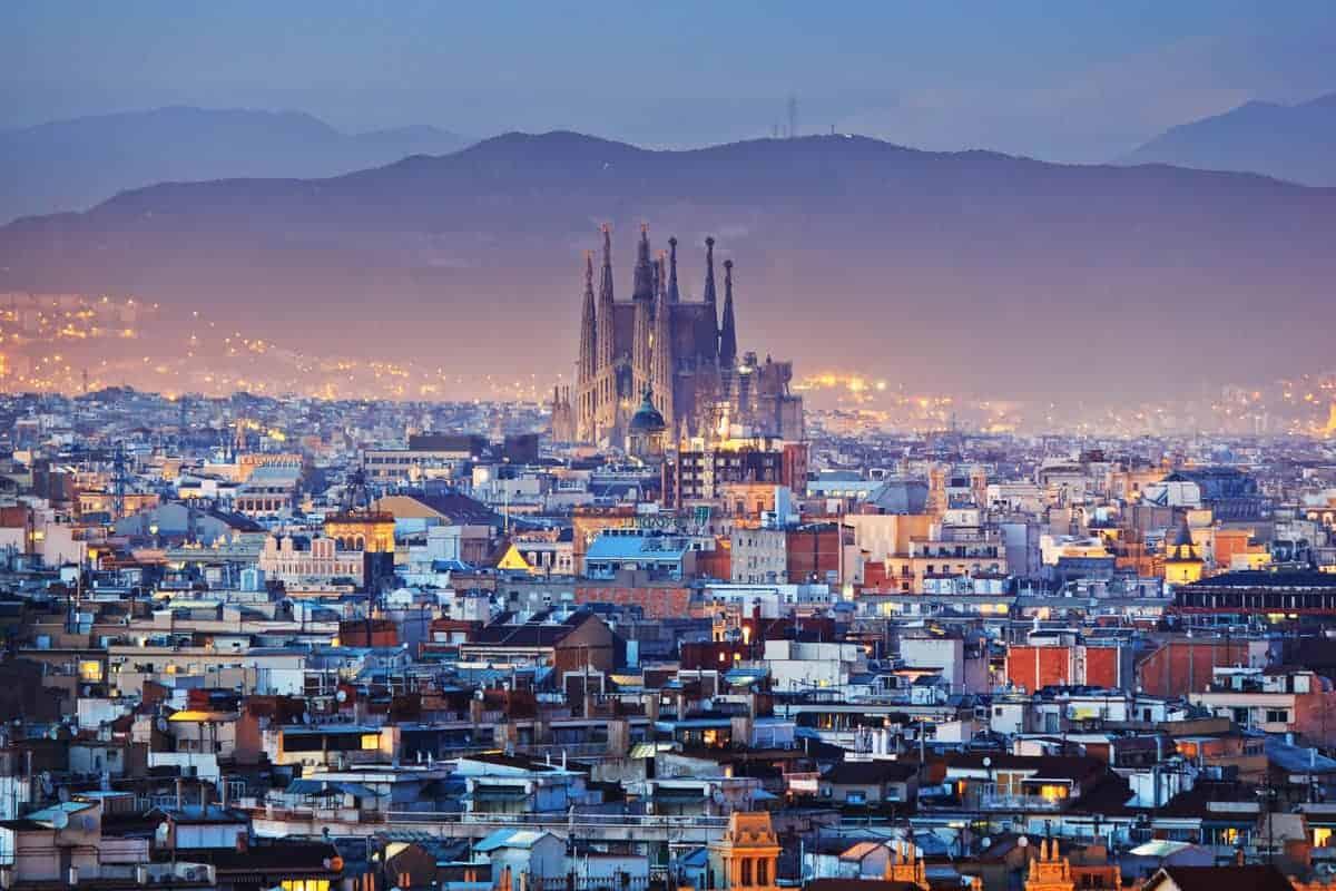 Aplankykite Barseloną