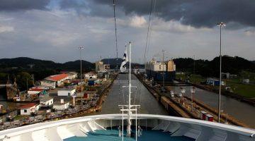 Sluoksnis, žiūrimas iš laivo denio