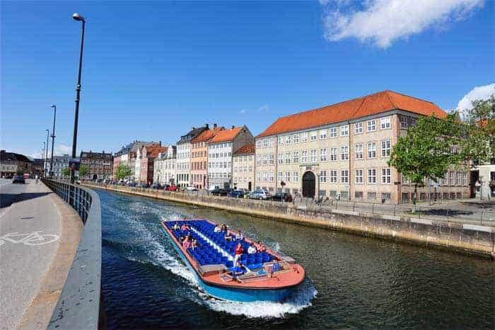 Barco canal tour, Copenhaga