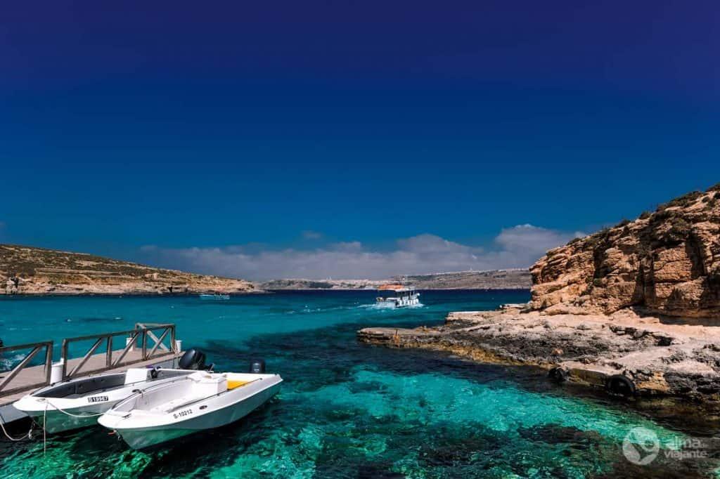 Loď Blue Lagoon - Malta