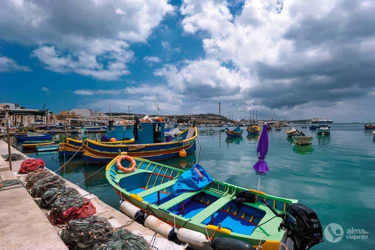 Porto de pesca de Marsaxlokk, Malta