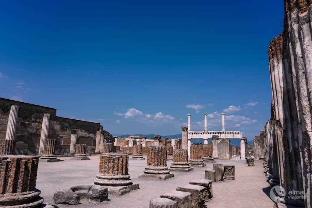 o que ver em Pompeia: Basílica