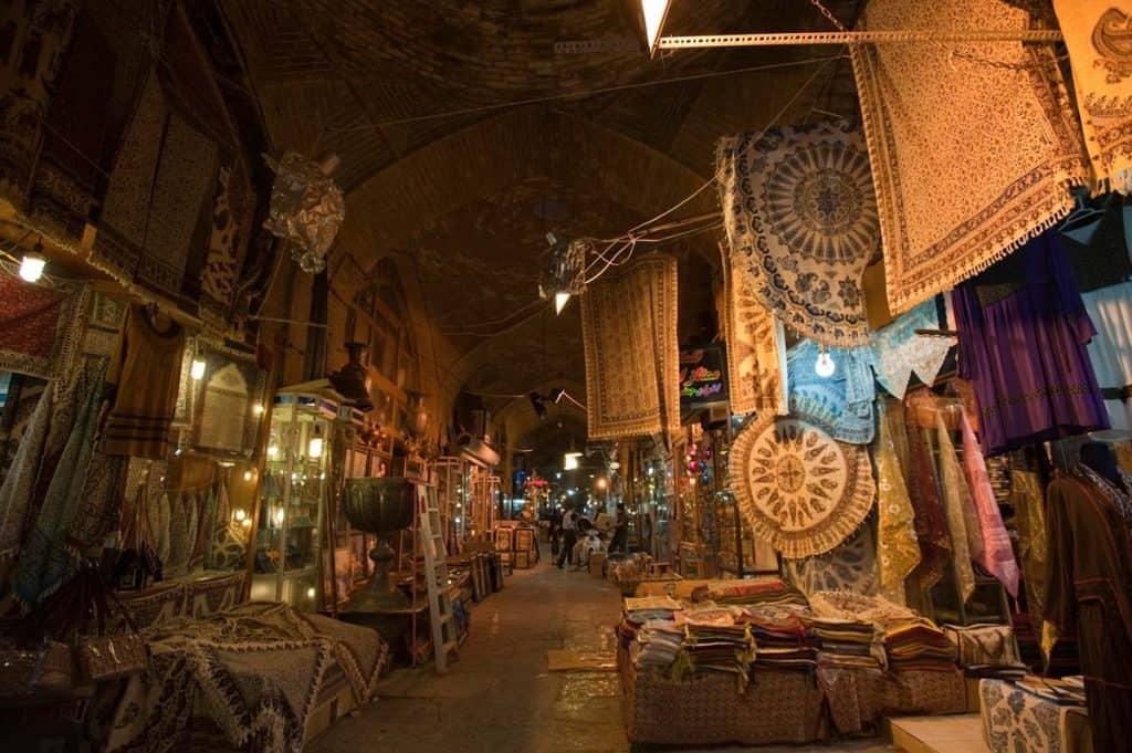 Melhores mercados do mundo: Bazar de Esfahan (Irão)