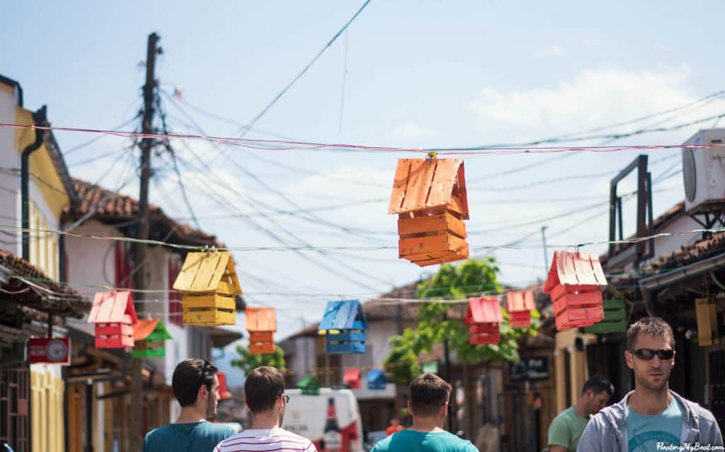 Visitar Gjakova: velho bazar