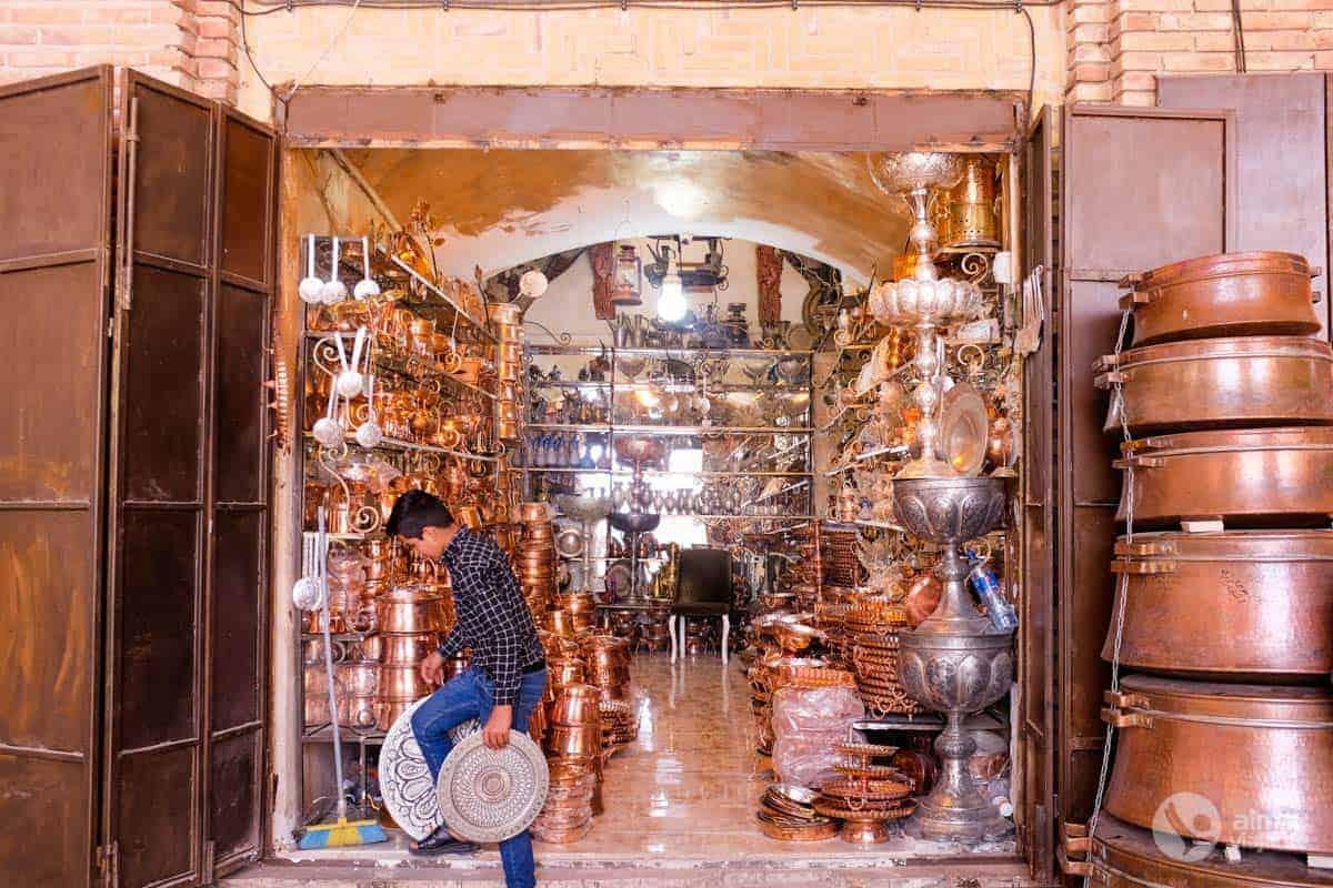 Bazar de Kerman, Irão
