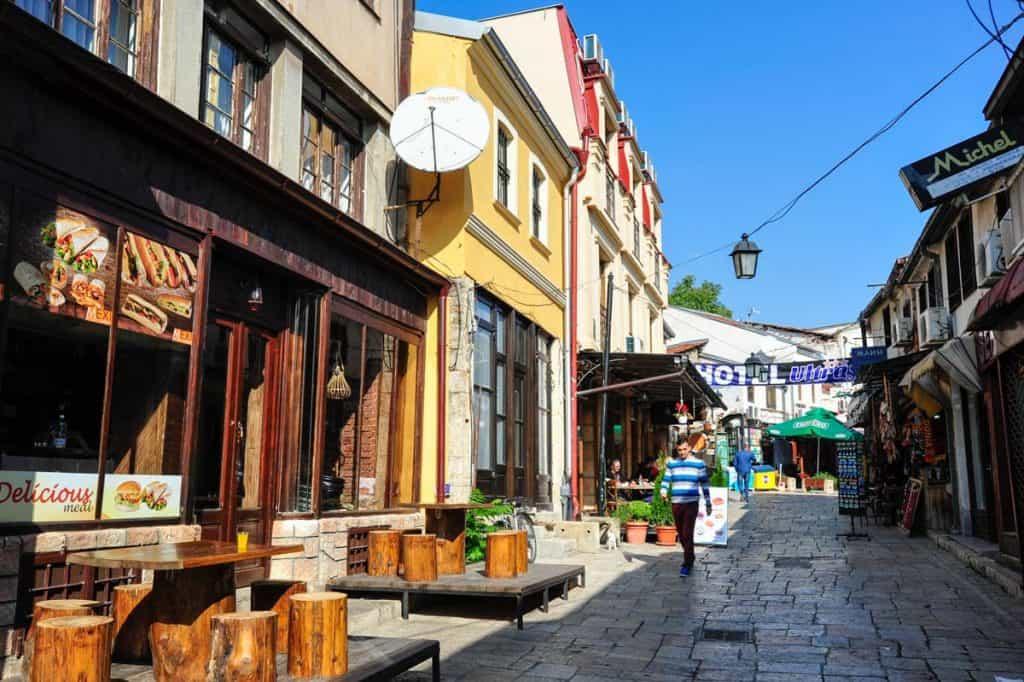 Bazar de Skopje Macedónia
