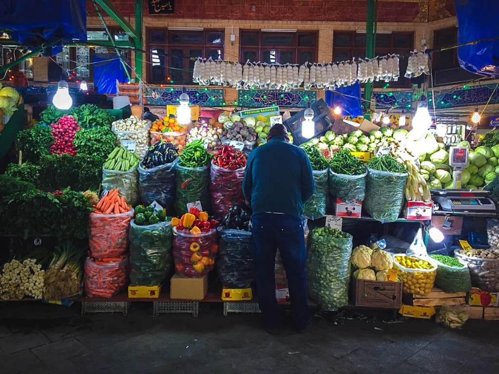 Visitar Teerão: : Bazar de Tajrish