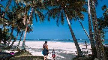 Pláž na korálovém pobřeží, Fidži