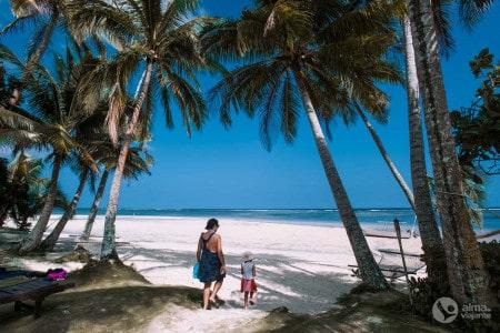 Praia na Coral Coast, Fiji