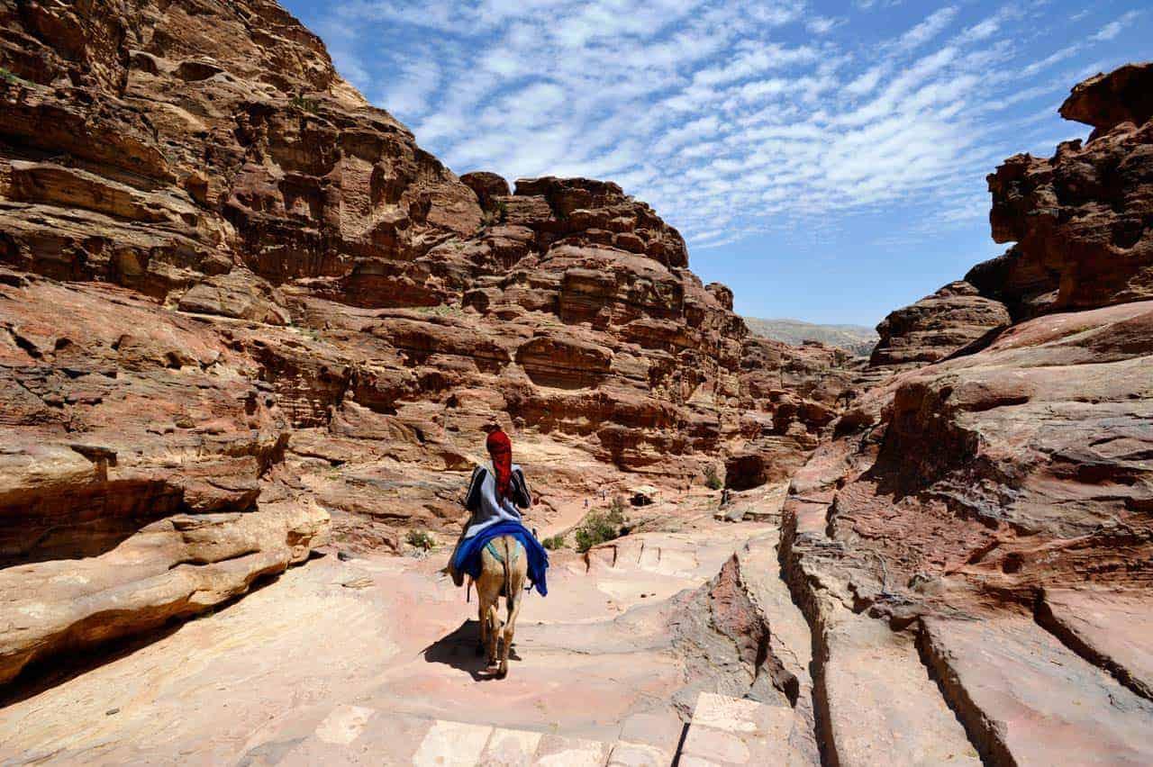 Caminho até ao Mosteiro, Petra