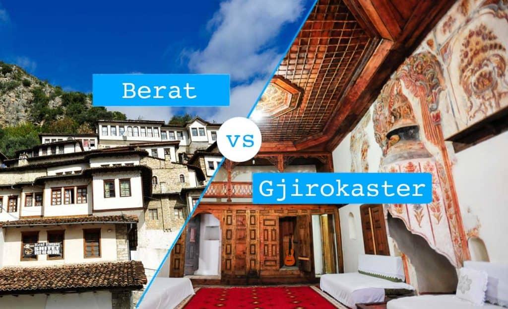 Berat versus Gjisokaster