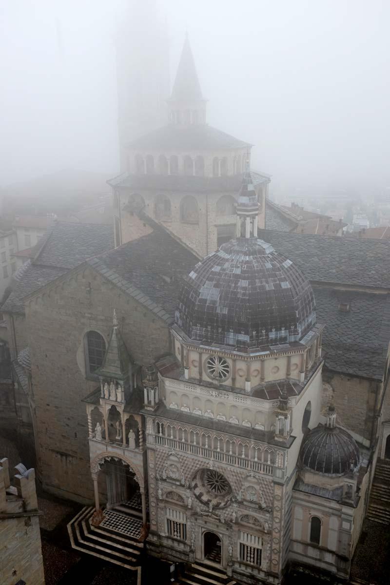 Basílica de Santa Maria Maggiore vista do topo da torre