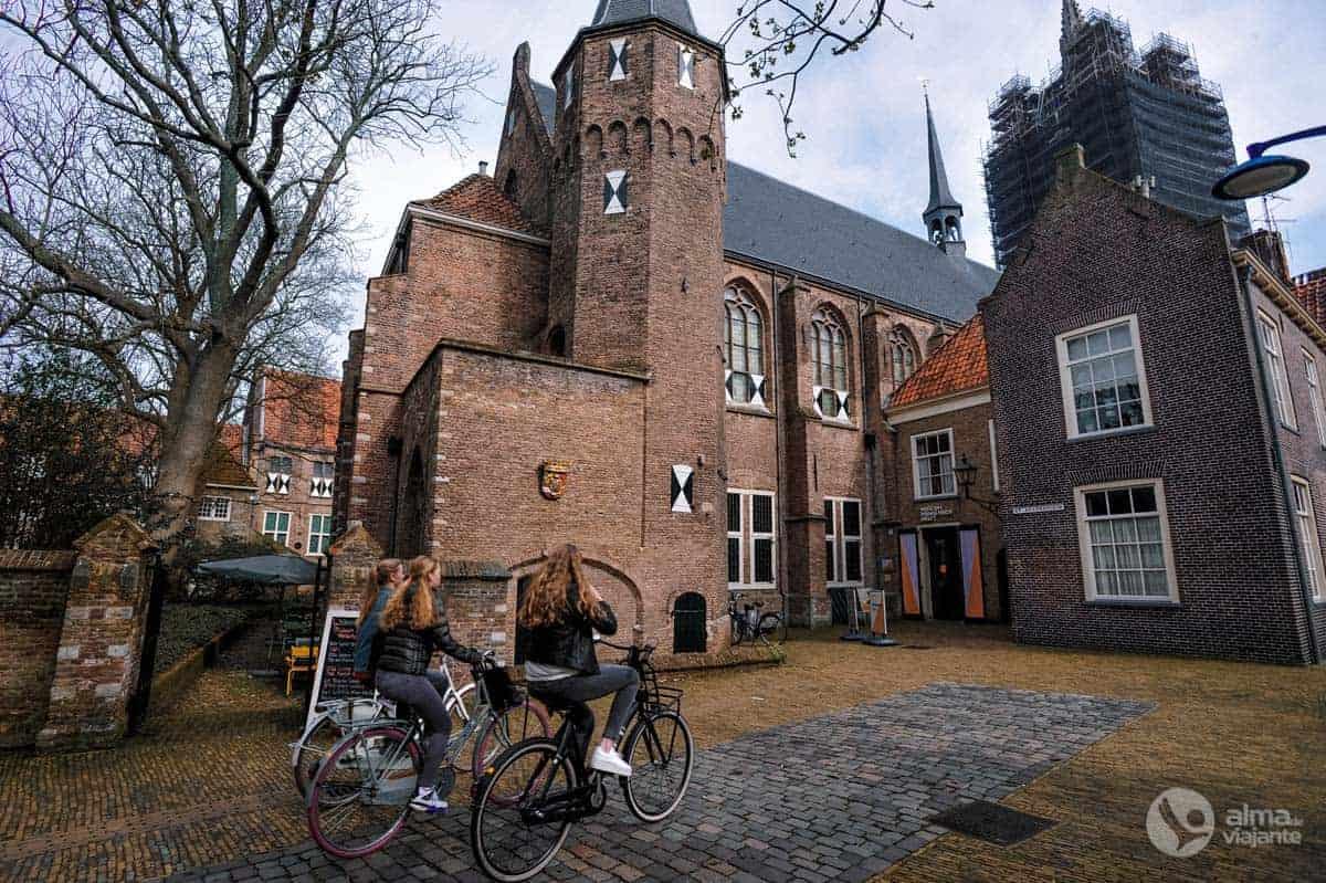 Bicicletas em Delft