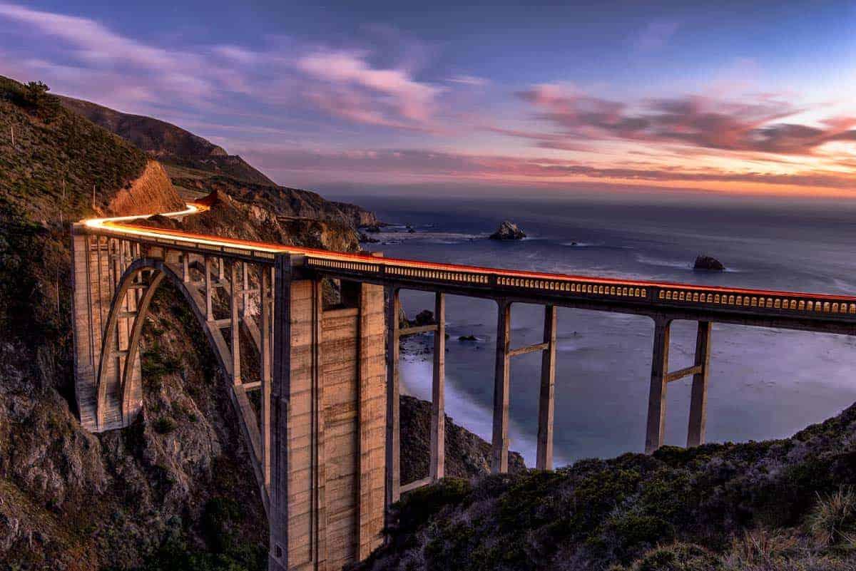 Aplankykite Kaliforniją: Big Sur