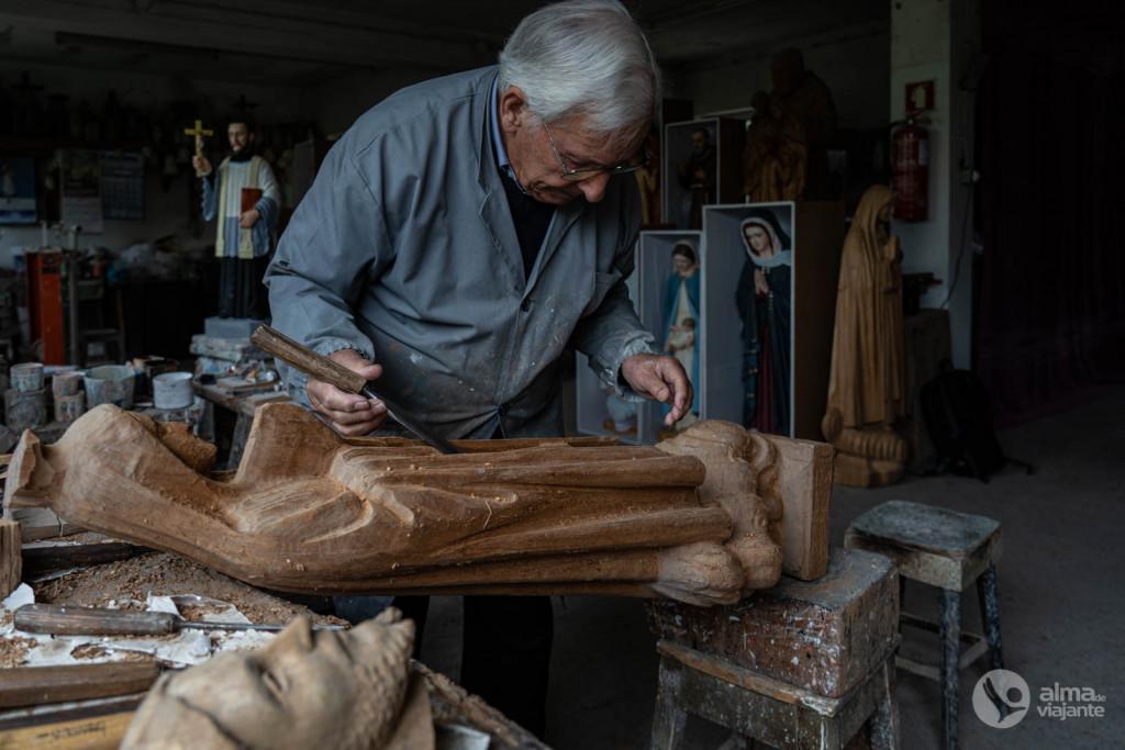 Boaventura Matos, Santeiros de São Mamede do Coronado, Trofa
