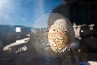 Terrestrial Globe á Bodie School