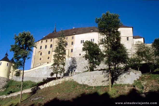 Castle Cesky Sternberk, Tékkland