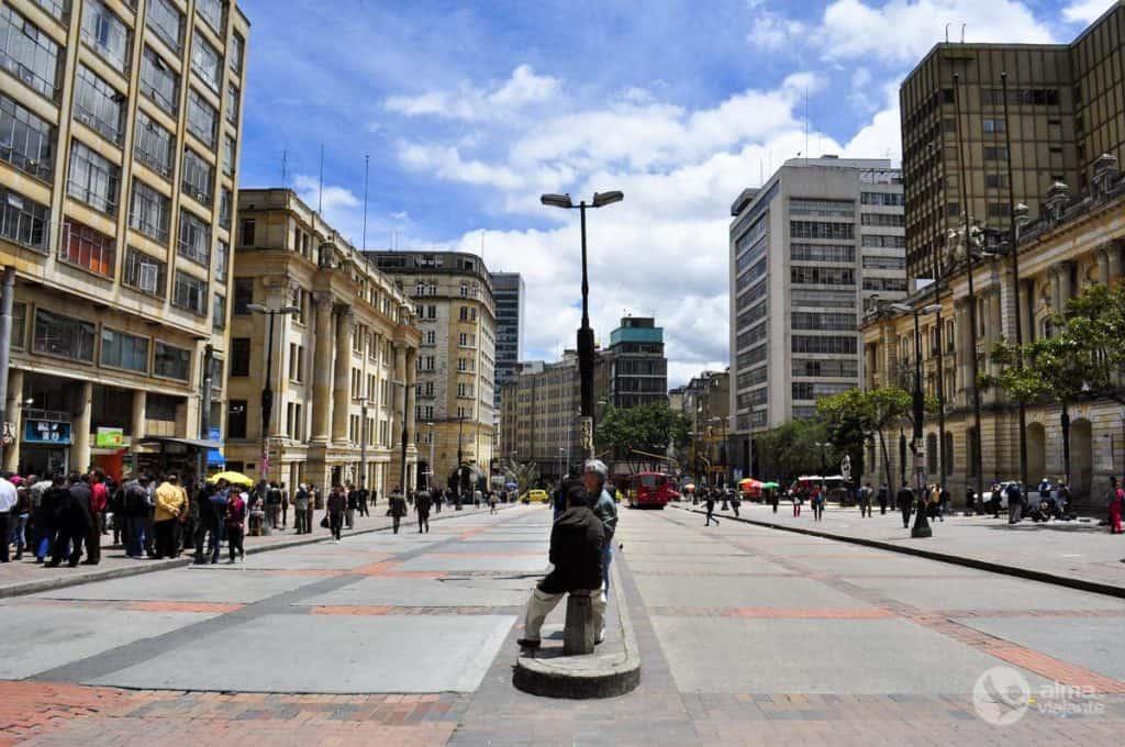 Bogotá: Avenida Jimenez
