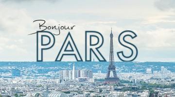 Bonjour Paris, um hyperlapse em 4K