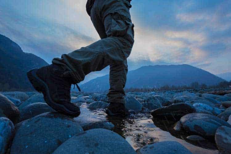Botas de trekking em Gore Tex