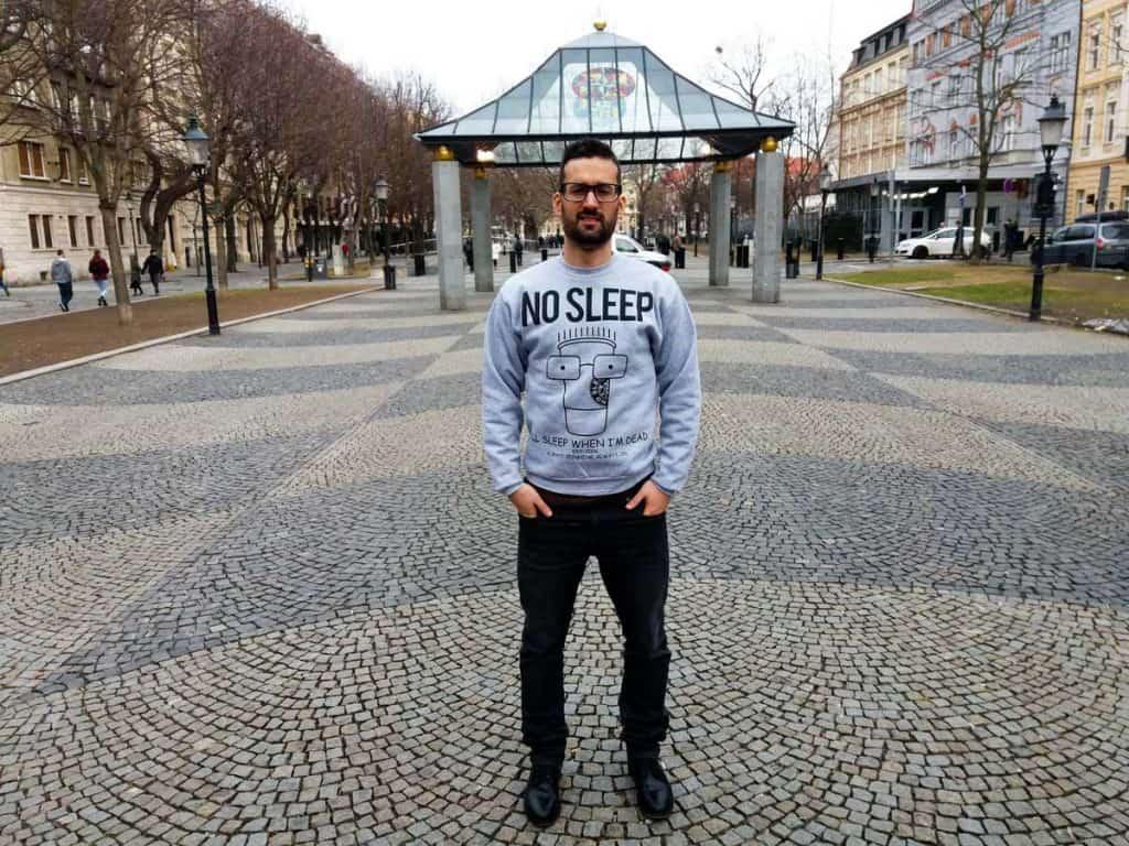 Viver em Bratislava: João Mariano