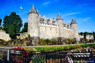 Castelo de Josselin, Bretanha