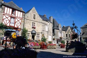 Rochefort-en-Terre, Bretanha, França