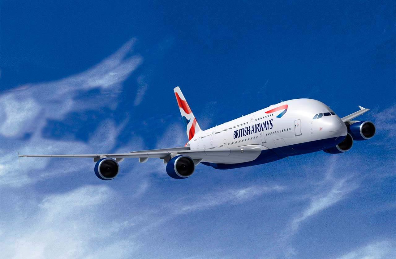 Avião da British Airways