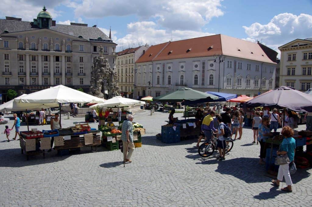 Praça do Mercado de Vegetais, Brno