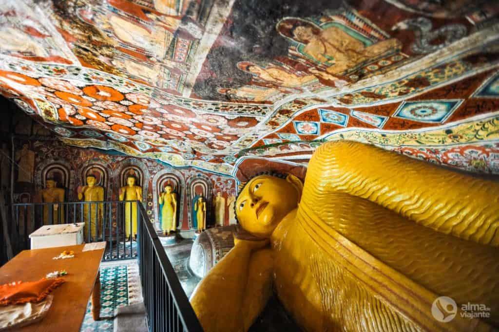 Templo na gruta Paduma, Mulkirigala