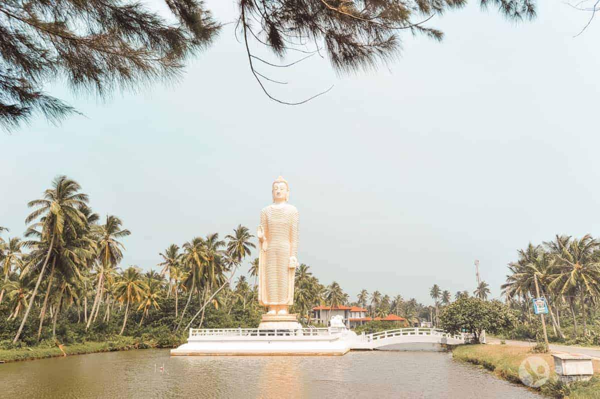 """""""Telwatta Buddha"""" Hikkaduwoje, Šri Lankoje"""