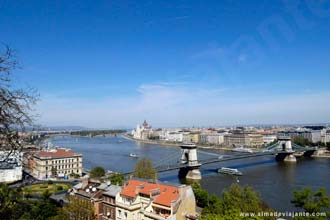 Vista geral de Budapeste