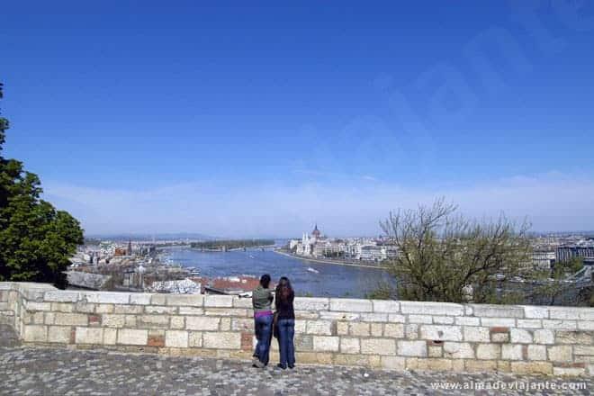Vista a partir do Palácio Real de Budapeste