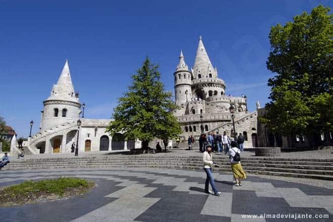 Passeando no centro histórico da capital húngara