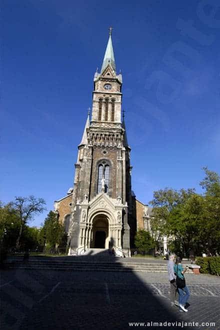 Igreja ortodoxa em Budapeste