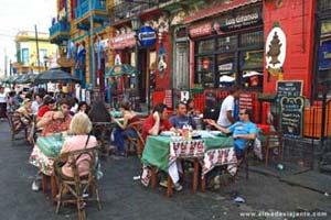 Cafés em La Boca, Buenos Aires