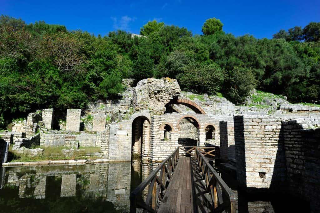 7 dias na Albânia: Teatro Romano de Butrint
