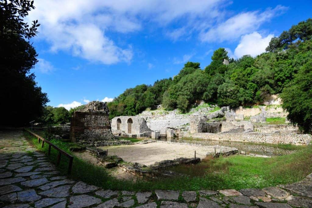 Banhos Romanos, em Butrint