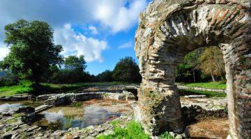 Ruínas de Butrint, caldeirão de história no sul da Albânia