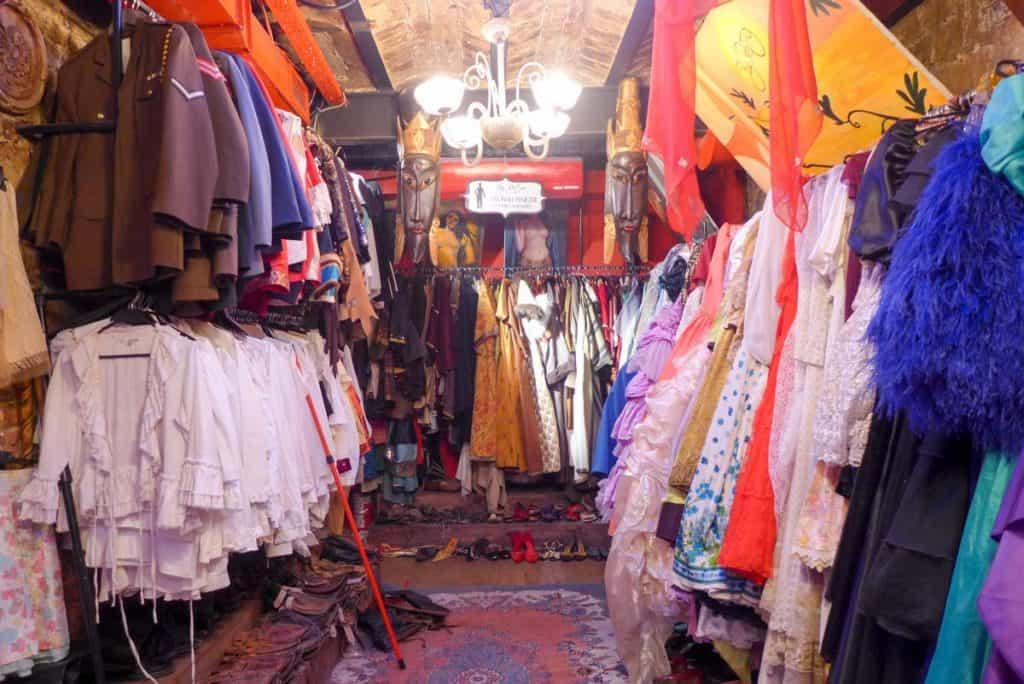 By Retro, loja vintage em Istambul