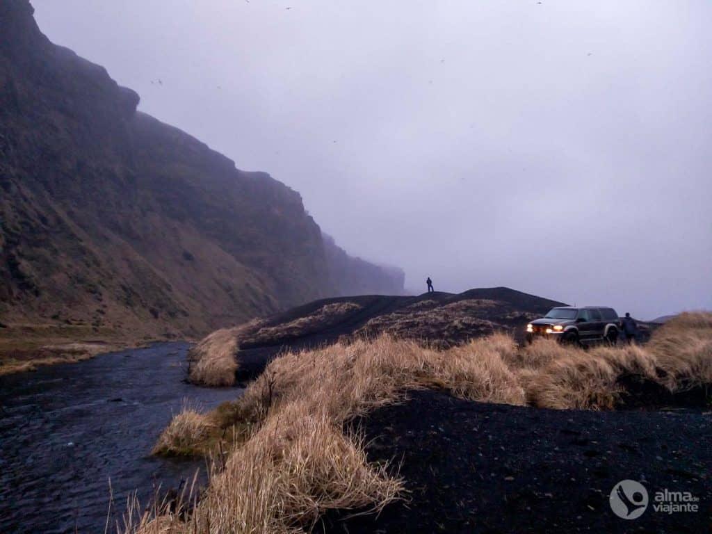 Fotografar com telemóvel: Cabo Hjorleifshofdi